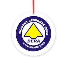 Cute Disaster preparedness Ornament (Round)