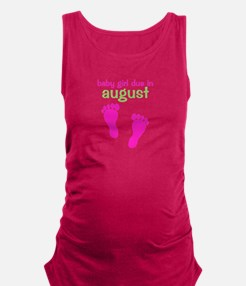 pinkfeet_babygirlduein_august_green Tank Top