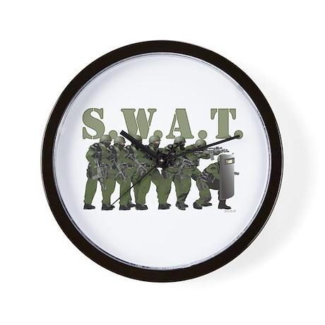SWAT ENTRY TEAM Wall Clock