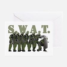 SWAT ENTRY TEAM Greeting Cards (Pk of 10)