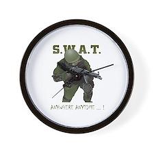 SWAT OPERATOR Wall Clock
