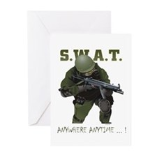 SWAT OPERATOR Greeting Cards (Pk of 10)