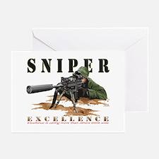 SNIPER II Greeting Cards (Pk of 10)