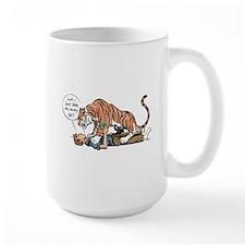 Tiger mugging Mug