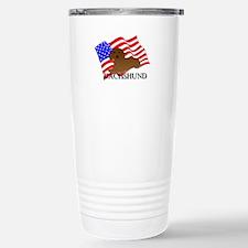 Dachshund USA Travel Mug