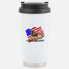 German Shepherd USA Travel Mug