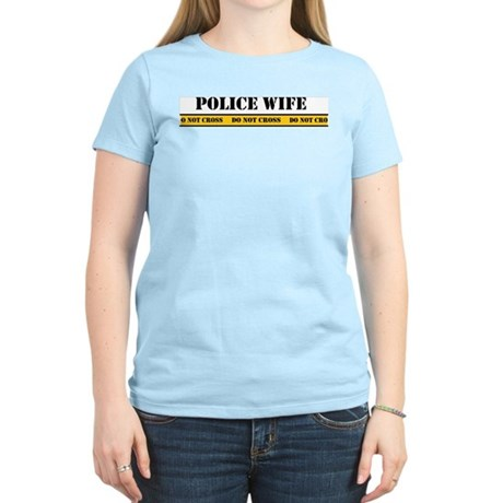 Police Wife Women's Light T-Shirt