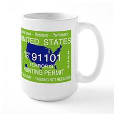 """Terrorist Hunting Permit"" Mug"