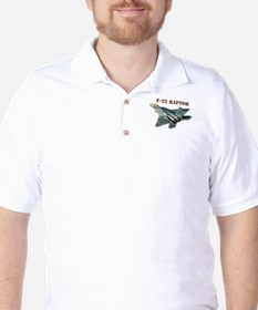 F-22 Raptor Golf Shirt