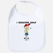 I Breathe Golf Bib