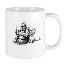 Gorilla and Alien, confusion Mug