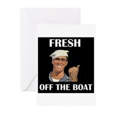 SAILOR Greeting Cards (Pk of 10)