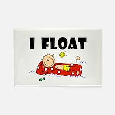 I Float Rectangle Magnet