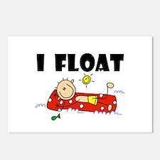 I Float Postcards (Package of 8)