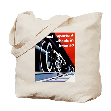 The most important Wheels- Tote Bag