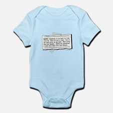 Back in Time... Infant Bodysuit