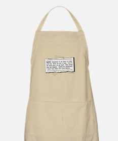 Back in Time... BBQ Apron