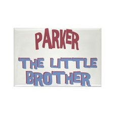 Parker - The Little Brother Rectangle Magnet