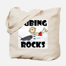 Tubing Rocks Tote Bag