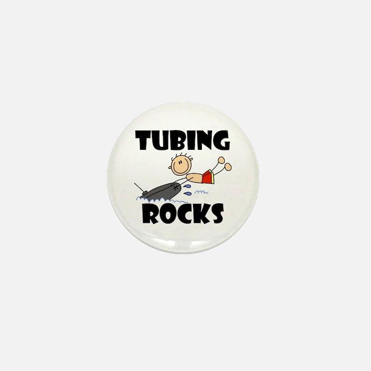 Tubing Rocks Mini Button