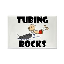 Tubing Rocks Rectangle Magnet (10 pack)