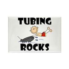 Tubing Rocks Rectangle Magnet (100 pack)