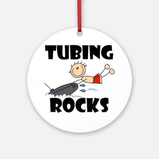 Tubing Rocks Ornament (Round)