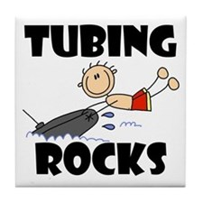 Tubing Rocks Tile Coaster
