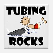 Tubing Rocks Tile Coaster