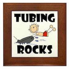 Tubing Rocks Framed Tile