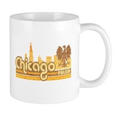 Chicago Polish Skyline Coffee Mug