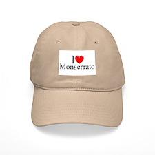"""I Love (Heart) Monserrato"" Baseball Cap"