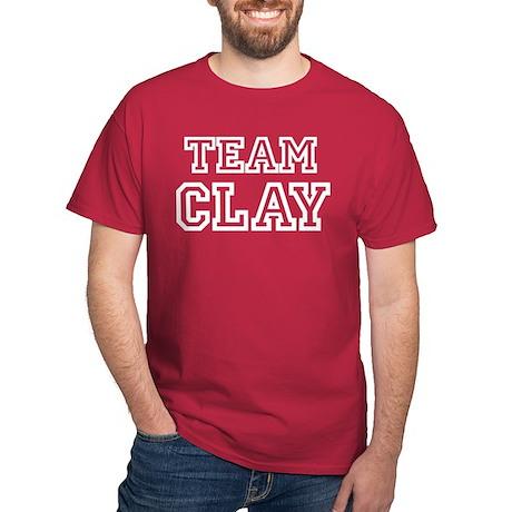 TEAM CLAY Dark T-Shirt