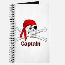 Pirate Captain Skull and Bones Journal