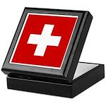 Swiss Cross-1 Keepsake Box