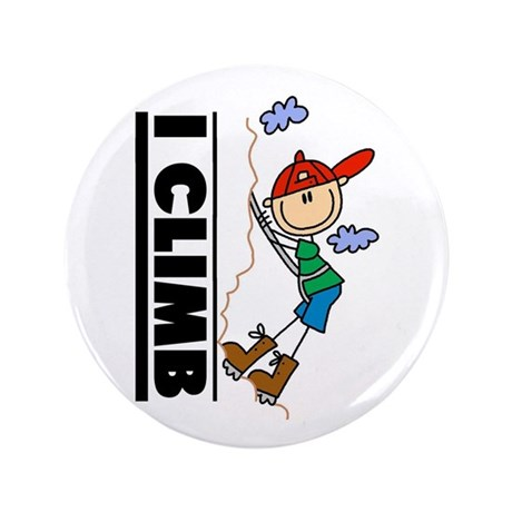 "Mountain Climbing 3.5"" Button"