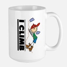 Mountain Climbing Large Mug