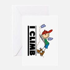 Mountain Climbing Greeting Card
