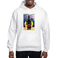 Black Cat Halloween Hoodie