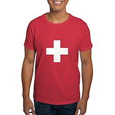 Swiss Cross-1 Men's T-Shirt