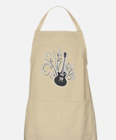 Cool guitar BBQ Apron