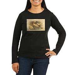 Flying Witch Women's Long Sleeve Dark T-Shirt