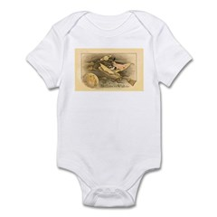 Flying Witch Infant Bodysuit