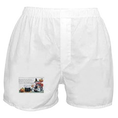 Witch & Cauldron Boxer Shorts