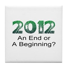 2012 End Tile Coaster