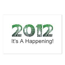 2012 Happening Postcards (Package of 8)