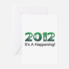 2012 Happening Greeting Cards (Pk of 10)