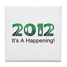 2012 Happening Tile Coaster