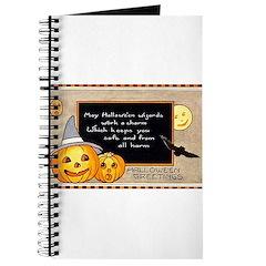 Halloween Wizards Journal