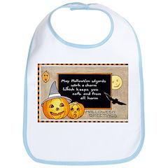 Halloween Wizards Bib